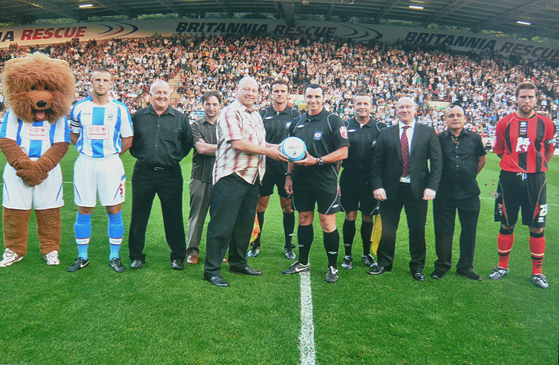 Assemble Catering Equipment are proud to sponsor Huddersfield Town Football Club